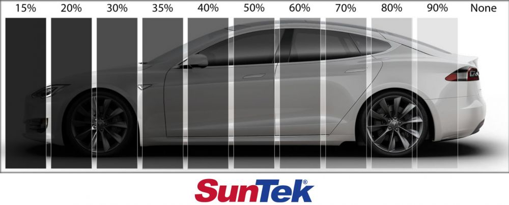 Ghost Shield Film Auto Tint options