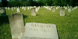 Ghostly Civil War cemetery not in Gettysburg