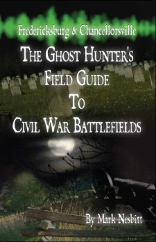 Fredericksburg Ghost Hunters Field Guide Cover