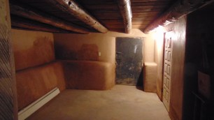 A small side room in the basement