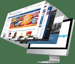 website design for book publicity
