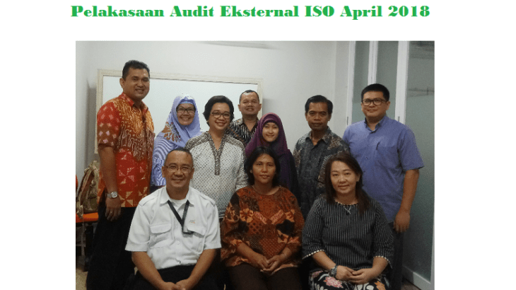 Audit Eksternal ISO April 2018