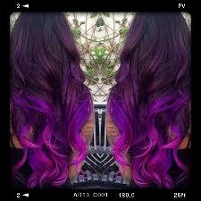 صبغات شعر بنفسجيPurple hair dyes