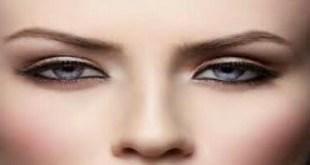 مكياج العيون الناعسه