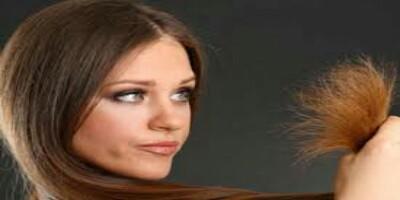 الشعر الجاف والمتقصف