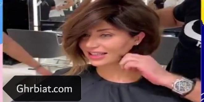 قصات شعر قصير مدرج