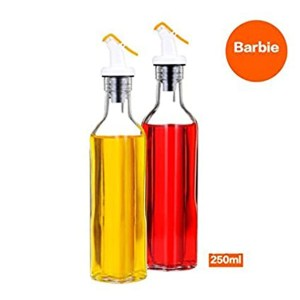 Stylish Oil/Vinegar Dispenser Bottle By Barbie Pack of 2