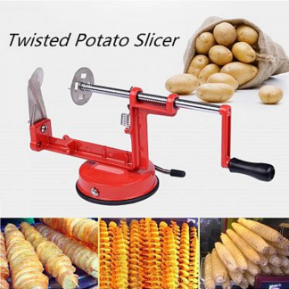 Imported Manual Stainless Steel Blade Twisted Potato Slicer