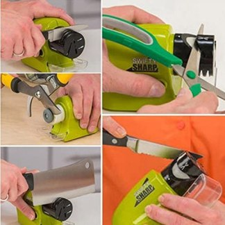 Sharp Cordless Motorized Knife Blade Sharpener