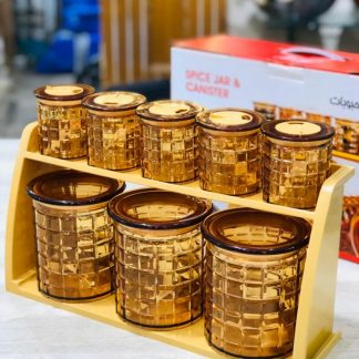 New Stylish Spice Jar Canister Masala Box