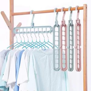 9 in 1 Multi Purpose Hanger Holder (Pack of 6)