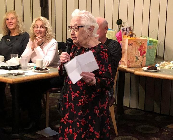 Dorothy Goldstein Kaperstein 95th Birthday 2