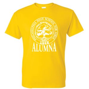 Daisy yellow GHS Alumna Tee Shirt