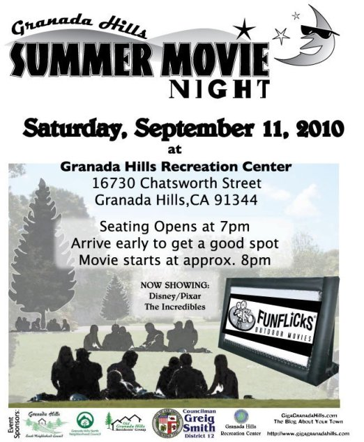 GH Back to School Movie Night