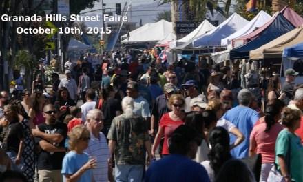 Granada Hills Street Faire Update