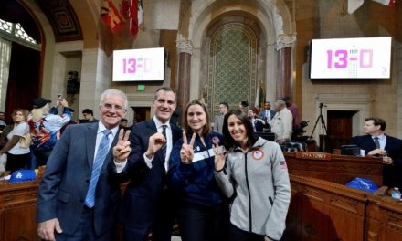 LA City Council Unanimously Votes to Bring the 2024 Olympics to Los Angeles