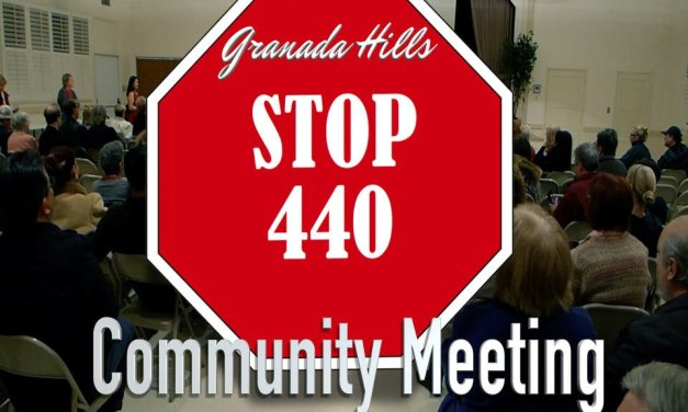 Video from the Stop 440 Community Meeting