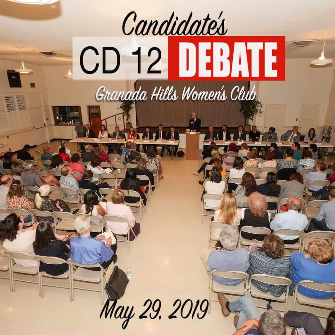 May 29th CD12 Candidates Debate
