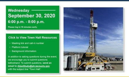 Save the Date! Aliso Canyon Disaster Health Research Study Virtual Town Hall