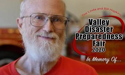 Linda and Bill Hopkins Valley Disaster Preparedness Fair Tomorrow (It's VIRTUAL This Year!)