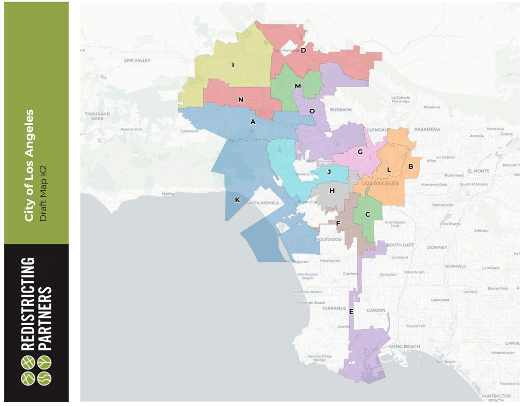 Special Meeting Tonight of the Los Angeles City Council Redistricting Commission