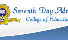 SDA College of Education Admission Requirements