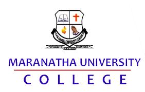 Image result for maranatha university college details