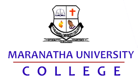 Maranatha University College Admission Letter