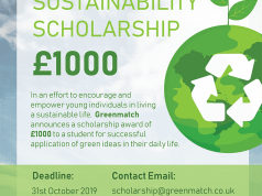 GreenMatch Sustainability Scholarship