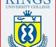 Kings University College Admission List