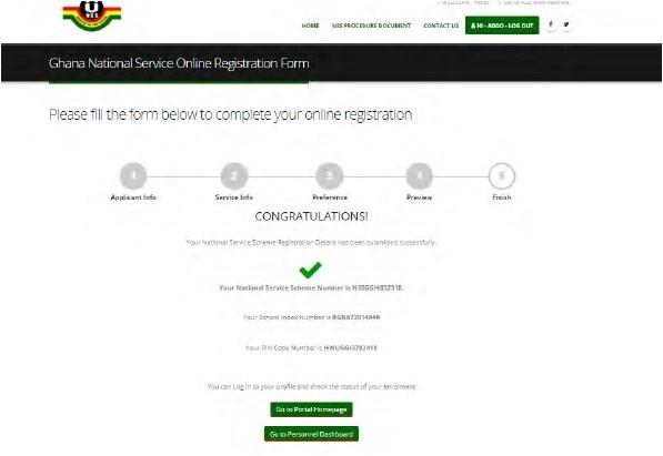 NSS Registration Procedures