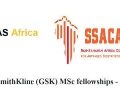 GlaxoSmithKline (GSK) MSc Fellowships
