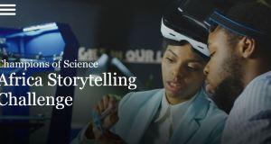 Johnson & Johnson Champions of Science Africa Storytelling Challenge