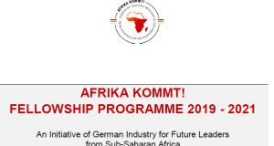 AFRIKA KOMMT Fellowship Program