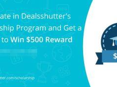 Deals Shutter Scholarship