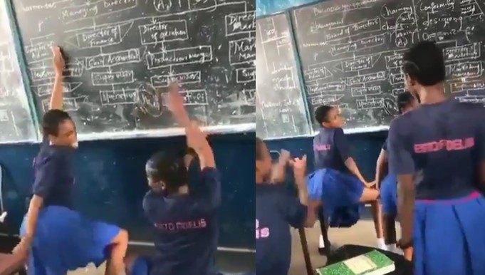 Video Of Female Students Of Missionary School Twerking In The Classroom