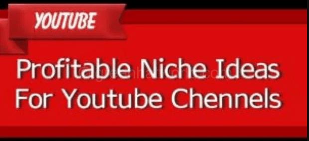 Profitable Niche Ideas List For Youtube 2018