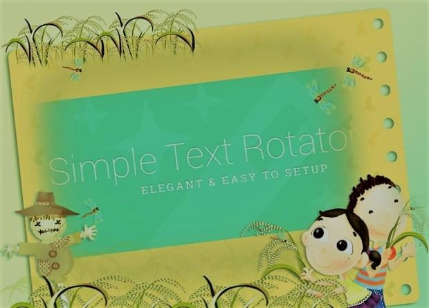 Text Rotator Wp Plugin