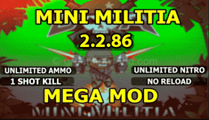 mini militia mega mod apk