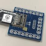 Koshian用 Bluetooth LE モジュール ピッチ変換基板 作り方