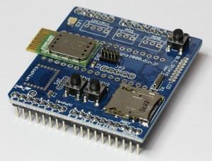 HRM1017 モジュールタイプ 簡易実装例