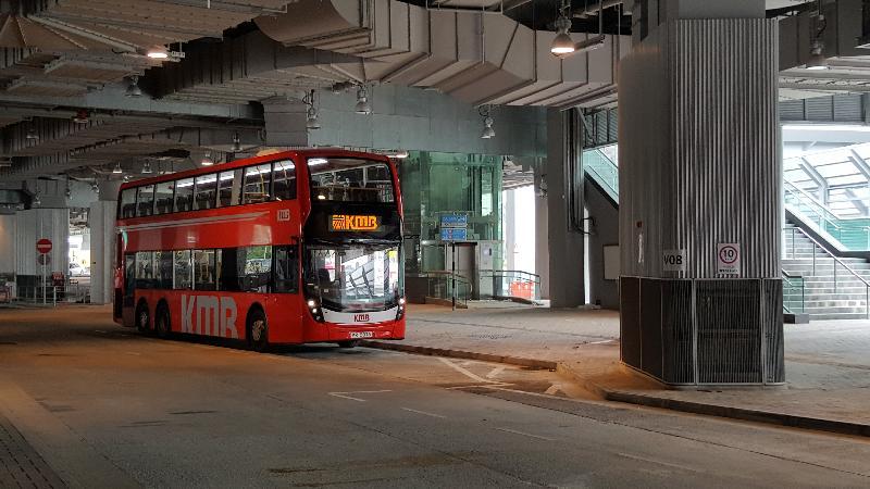 西九龍站巴士總站本周日啟用(附圖)