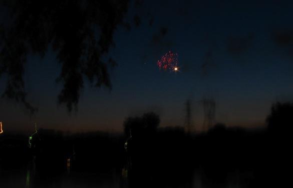 Fireworks - Jumpin' Jack's from 16 Washington Ave., Stockade