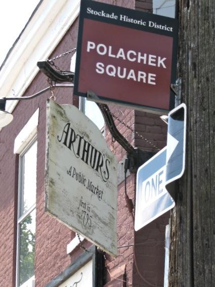 Polachek Square dedication - Pole