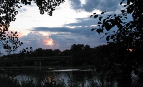 Sunset 1 Cucumber Alley 14June2009