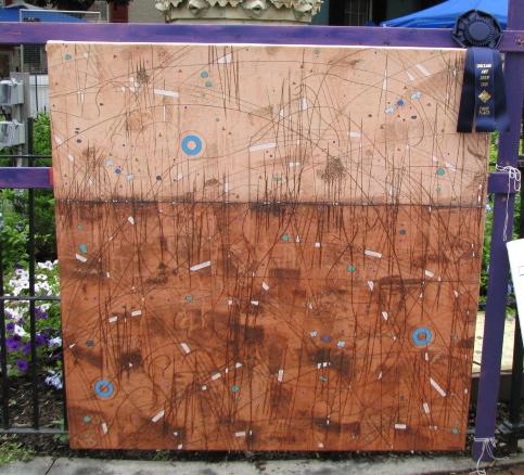 """Digial Boundary"" by Erik Laffer, 1st Place, 58th Stocakde Villager's Outdoor Art Show - 12Sep09"