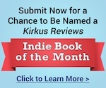 Kirkus review ad for indie book of the month