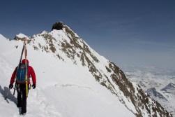 13 pizzo bernina scialpinismo direttissima canale sud sci mountainspace giacomo longhi (9)