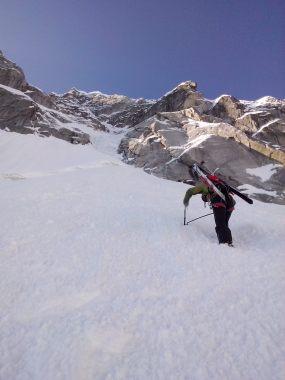 pizzo del ferro orientale sci ripido discesa sci albigna mountainspace (5)