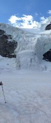 Piz cambrena via del seracco scivolo nord piz arlas piz palu mountainspace skialper bernina diavolezza alpinismo engadina palù naso ghiaccio giacomo longhi michele gusmini (5)
